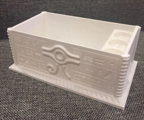 "MTG YUGIOH EDH Custom Deck Box With Dice Holder ""Millennium"""