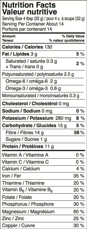 Just Hemp Foods Hemp Protein Powder Plus Fiber Non-GMO 4