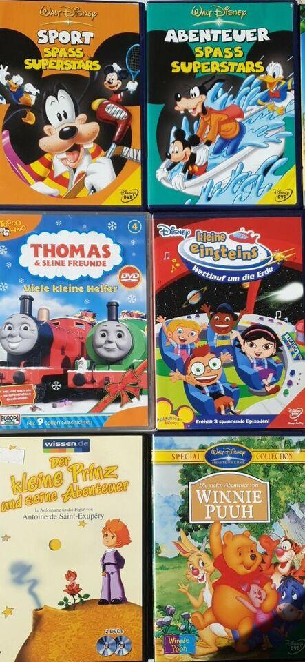Kinder DVD* Winni Puuh*Micky Maus*Kleine einsteins usw in Saarbrücken - Saarbrücken-Halberg
