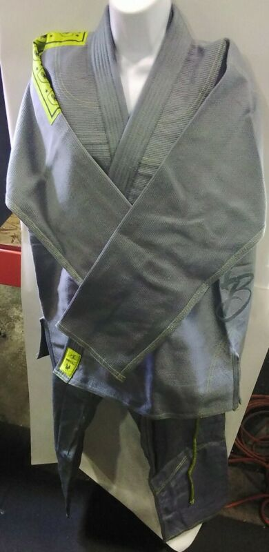 The Arm Bar Soap Company Gray Bussiness Suit Size A2H For Thia Jitsu