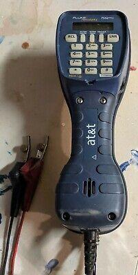 Harris Fluke Ts52 Pro Lineman Butt Set W Dsl Override 2 Way Speakerphone