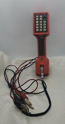 Harris Craft Test Ts-22l Amplified Speaker Data Lockout Linesmen