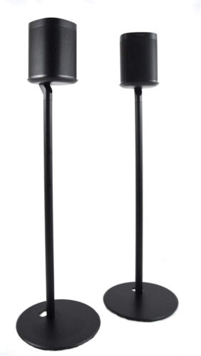 ynVISION Floor Stand for Sonos One, One SL and Play:1 Speaker | 2 Pack | YN-ONE