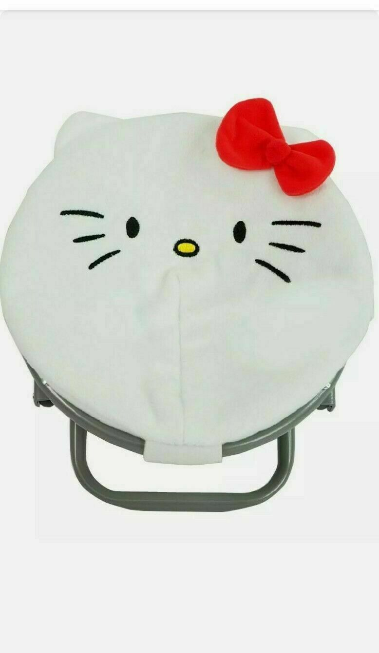 White Hello Kitty Saucer Chair Fits 18 American Girl Doll My Life As - $19.99