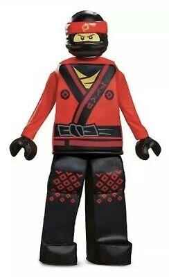 Kai Ninjago Lego Boy's Prestige Halloween Costume Size Large (10-12)