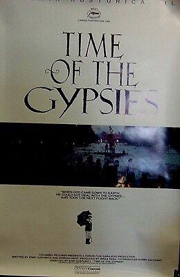 Antiquated of the Gypsies Original Single Sided Movie Poster Emir Kusturica 1988