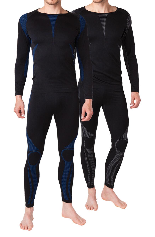 Herren Sport Funktionswäsche Unterhose oder Unterhemd lang Thermo Skiwäsche