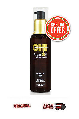 CHI Argan Oil 89ml BEST OIL for hydration and revitalization / dry, damaged (Best Oil For Dry And Damaged Hair)
