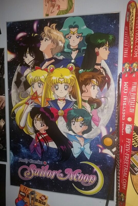 Sailor Moon Poster color laminated Anime Art