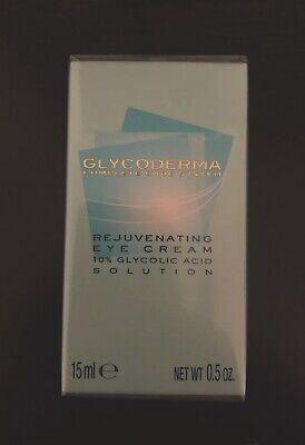 *LOT OF 2* Glycoderma Rejuvenating Eye Cream 10% Glycolic Acid Solution .5oz New ()