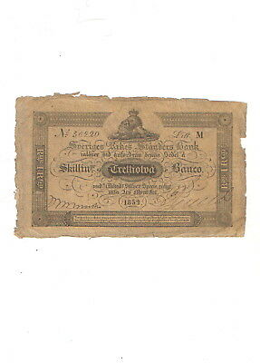 Schweden , 32 skilling 1852 , SELTEN