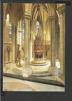 Judges Colour Postcard Interior Truro Cathedral Baptistry Cornwall posted