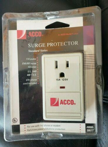 ACCO SURGE PROTECTOR  UPC: 050505506774