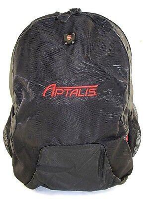 NEW Victorinox Alpine Collection Canberra Laptop Backpack -Black w/Logo Alpine Nylon Backpack
