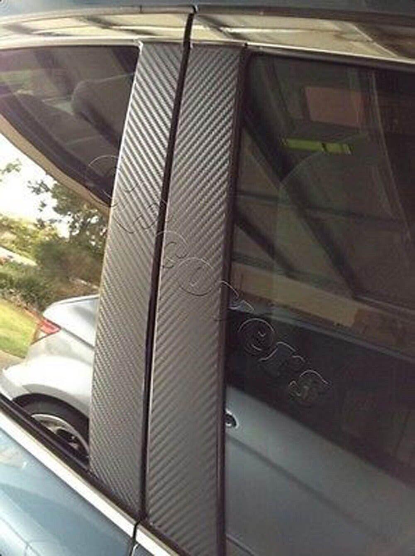 96-00 Honda Civic Door B-pillar Trim Plastic Window Front Moulding Sedan L/&R 4DR