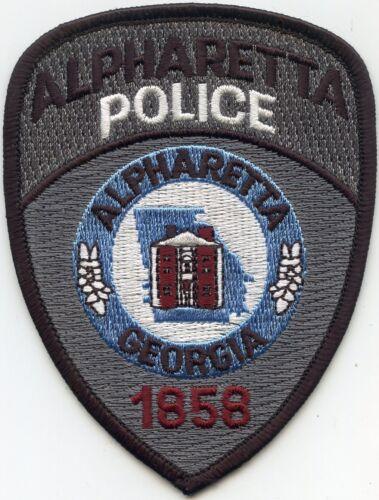 old vintage ALPHARETTA GEORGIA GA POLICE PATCH