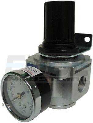 Industrial Grade Heavy Duty Compressed Air In Line Pressure Regulator 12 Npt
