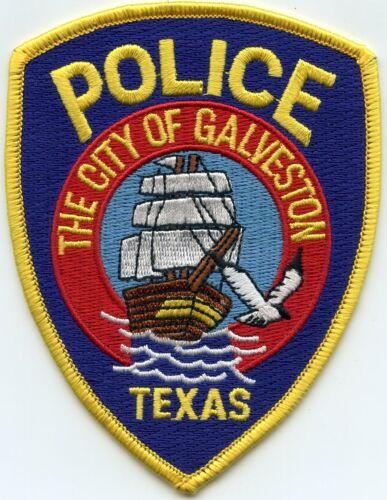 GALVESTON TEXAS TX POLICE PATCH