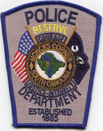 MONCKS CORNER SOUTH CAROLINA SC RESERVE POLICE PATCH