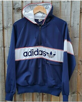 Vintage Adidas New York hoodie Colorado 80s casuals small