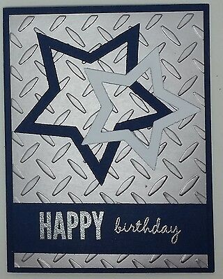 Handcrafted Greeting Card - Happy Birthday - Masculine - Dallas Cowboys](Dallas Cowboys Birthday Card)