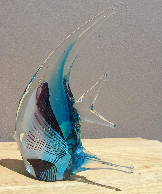 Blown glass angel fish - photo#13