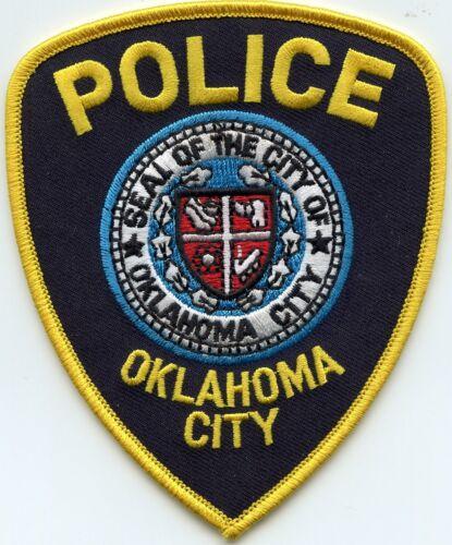 OKLAHOMA CITY OKLAHOMA OK POLICE PATCH