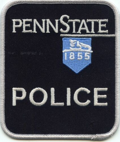PENN STATE UNIVERSITY PENNSYLVANIA PA stain on patch CAMPUS POLICE PATCH