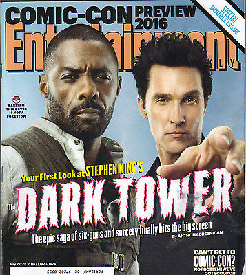 Matthew Mcconaughey Idris Elba Dark Tower Entertainment Weekly 7 22 16 Comic Con