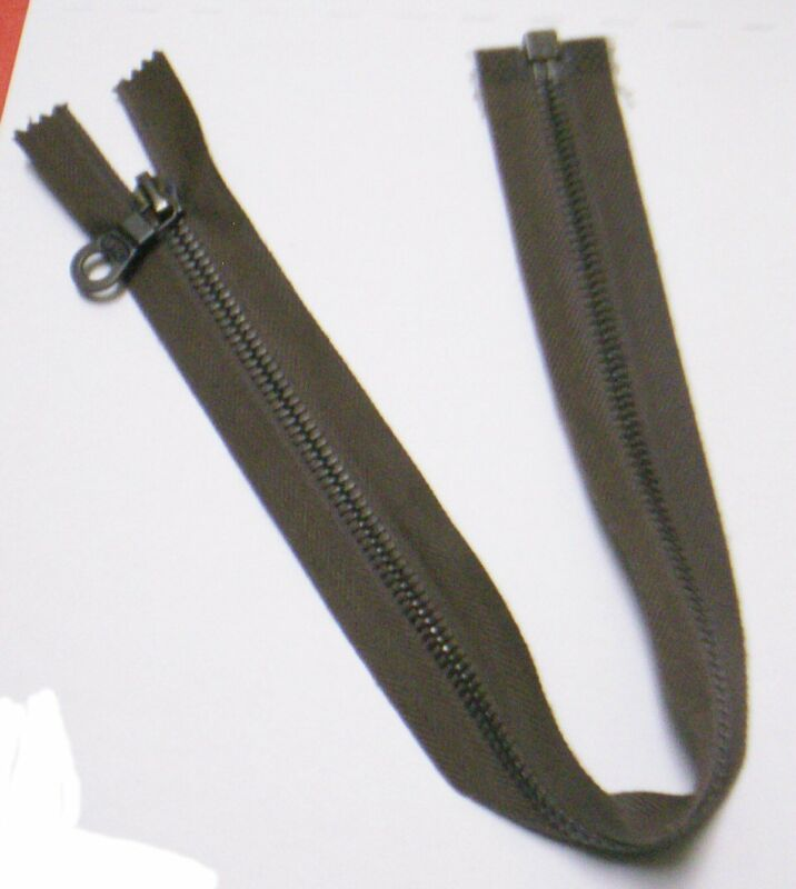 Swiss Military - BSC - Brown Tape Metal Zipper (NOS)
