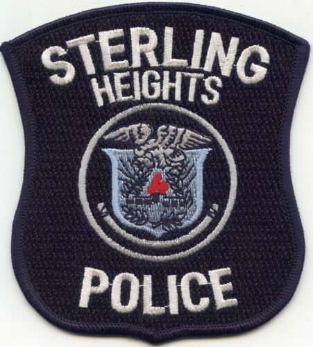 STERLING HEIGHTS MICHIGAN MI POLICE PATCH