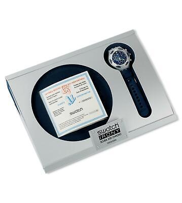 Swatch Irony Scuba 200 Chrono YBZ4000PACK SEA COUNTER VIP Watch 2000 Collection
