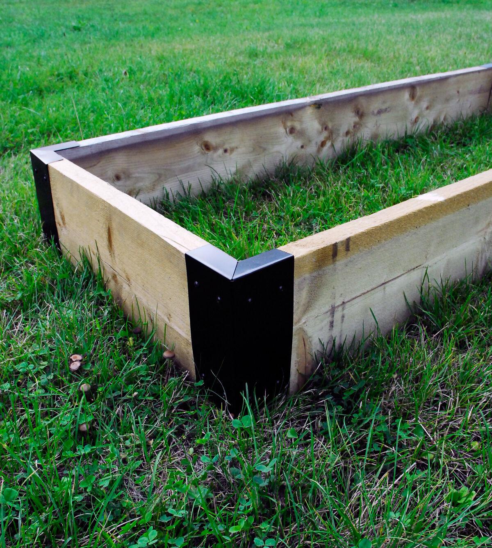 Large Corner Brackets Raised Bed Bedding Vegetable Planter