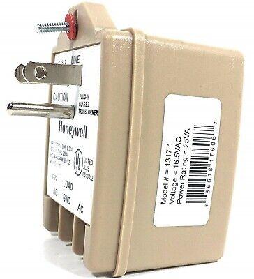Honeywell Transformer 1317-1 (Grounded) - 1321-1 Replacement / 16.5VAC / 25VA