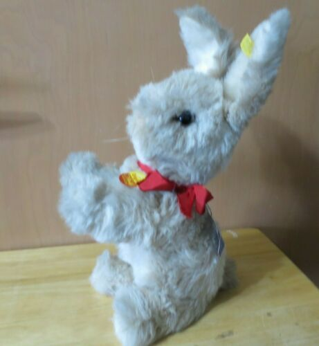 "Vintage Steiff Sitting Rabbit ,11""  EAN 2950/30"