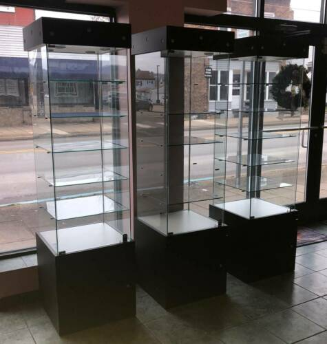 Tower Lighted Display Cabinet