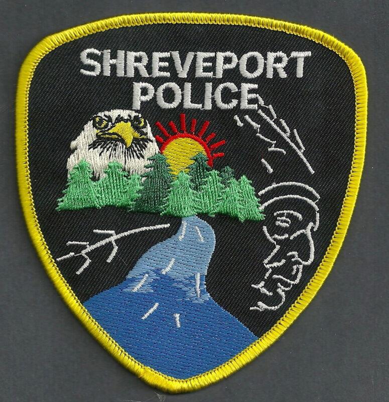 SHREVEPORT LOUISIANA POLICE SHOULDER PATCH
