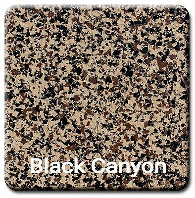 20 Lbs Decorative Color Chip Flakes For Epoxy Floor Coating Black Canyon 14