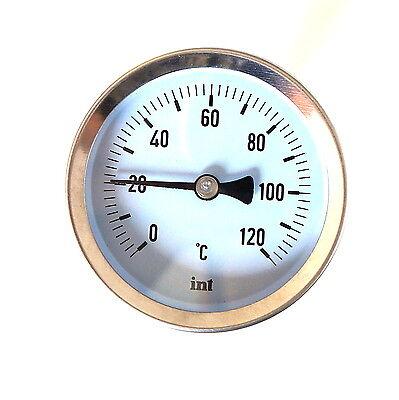 Solido Metallo Industriale Misuratore Di Temperatura per l'acqua e Olio 1.3cm