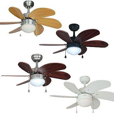 30 Inch Ceiling Fan with Light Kit - Satin Nickel, Oil Rubbe