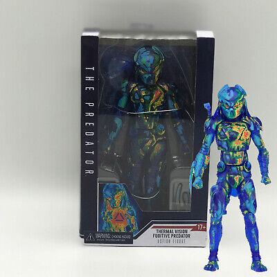 The Predator Thermal Vision Fugitive Predator Action Figure Alien Doll Toy 8