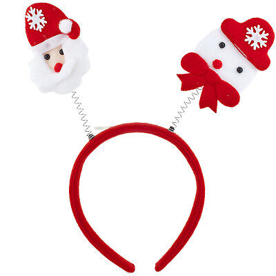 Lux Accessories Santa Christmas Holiday Ugly Sweater Party Bopper - Ugly Christmas Sweater Accessories