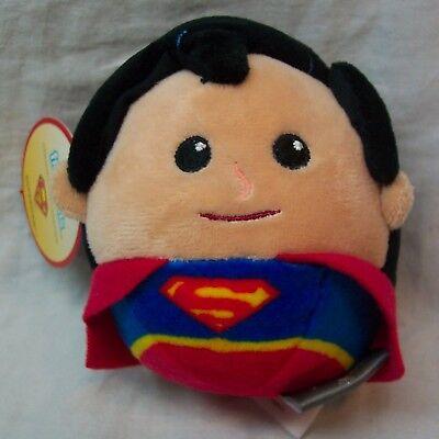 HALLMARK FLUFFBALLS DC Comics SUPERMAN PLUSH BALL ORNAMENT Stuffed Toy NEW