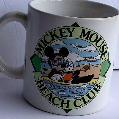 Disney Applause Mickey Mouse Beach Club Coffee/tea Ceramic Mug