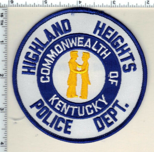 Highland Heights Police (Kentucky) Shoulder Patch - new from 1990