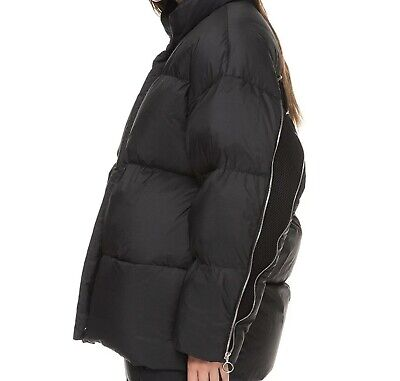 Ienki Ienki vent puffer jacket / coat Pure goose down, Black, Small