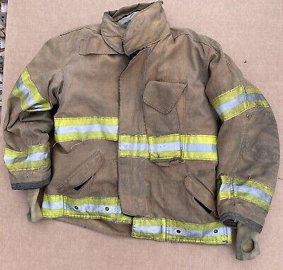 Janesville Turnout Bunker Coat Fire Fighting Firefighter Lion Gear 48 X 29