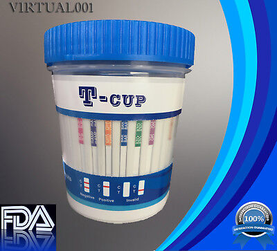12 Panel Drug Test Cup  Test For 12 Drugs  Fda  Clia   Lots As Low As  2 75  Cup