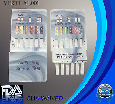 5 Pack  12 Panel Urine Dip Instant Drug Test  Fda Approved  Clia Waived