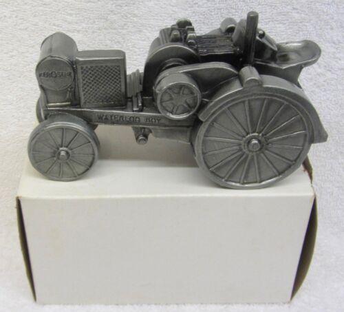 Vintage JOHN DEERE WATERLOO BOY Tractor Model N 1916 Diecast Coin Bank NEW n BOX